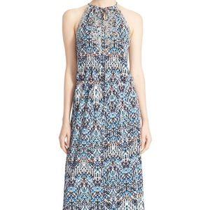 Parker Embellished Print Maxi Dress